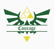Triforce of Courage Kids Clothes