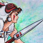 Princess Mononoke by Kimberly Castello
