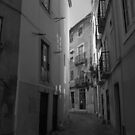 Backstreet in Lisboa. by naranzaria