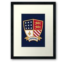 Motown // America League // PCGD Framed Print