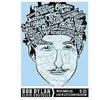 Bob Dylan - Live @ Littlejohn Coliseum Photographic Print