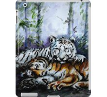 Tigers! Mother and Child iPad Case/Skin