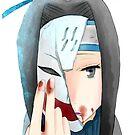 Haku iPhone Case Naruto by squidkid