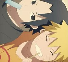 Best Friends- Naruto iPhone Case by squidkid