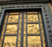 gold door by Anne Scantlebury