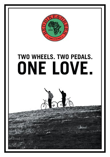 One Love Poster by redbikegreen