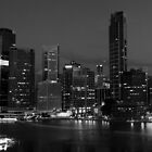 Brisbane in Black & White by Adam Price