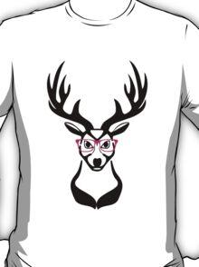 Nerdy Deer  T-Shirt
