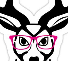 Nerdy Deer  Sticker