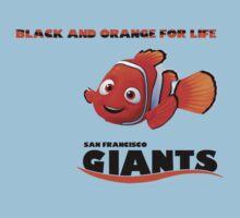 Black & Orange (Clown Fish) For Life Kids Clothes
