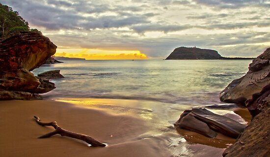 West Head Beach by Doug Cliff