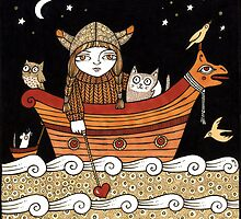 Veras Viking Voyage by Anita Inverarity