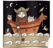 Veras Viking Voyage Poster