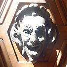 TUSCAN DOOR DECOR  - THE LAUGH by mrsvjones