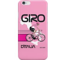 GIRO D'ITALIA iPhone Case/Skin