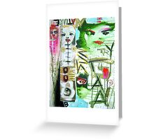 try gaia Greeting Card