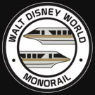 WDW Monorail Gold by AngrySaint