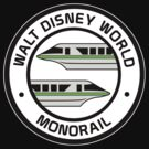 WDW Monorail Green by AngrySaint
