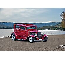1930 Ford Model A Sedan Photographic Print