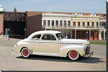 1941 Cheverolet Business Coupe by DaveKoontz
