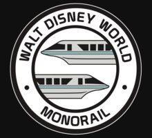 WDW Monorail Teal by AngrySaint