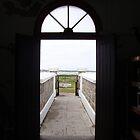 Lighthouse Door by Eldon Mason