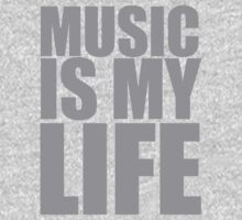 Music Is My Life Kids Clothes