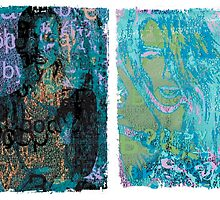 Incarnata Diptych #20 by Grimm Land