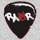 Rawr Guitar Pick by rawrclothing