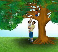 """""""Climbing a tree"""" by Alejandro Cuadra"""