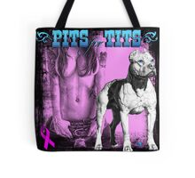 Pits for Tits Tote Bag