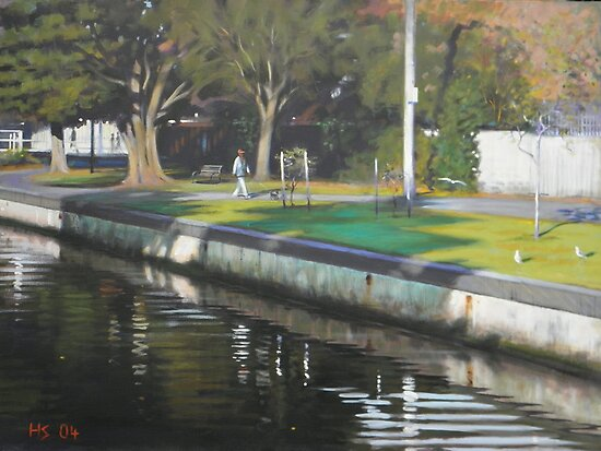 Elwood Canal   by picboxthornbury