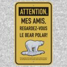 le bear polar sign/gold by br0-harry