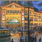 Flinders Street Station by picboxthornbury