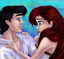 Ariel and Eric by Kimberly Castello