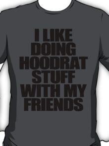 i like doing hoodrat stuff with my friends T-Shirt