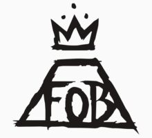 Fall Out Boy Logo Black by Kiwicrash