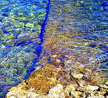The Water Around Cap Ferrat by Fara