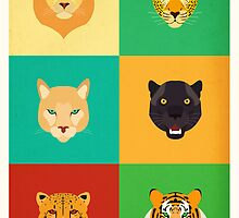 Felines Personalities by Hey  Frank!
