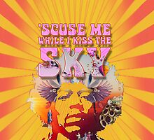 'Scuse Me While I Kiss The Sky - Jimi Hendrix' by STUDIO 88 STRATFORD TARANAKI NZ