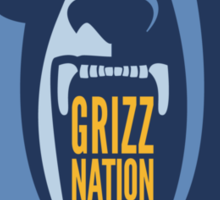 Grizz Nation Sticker