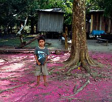 People 0659 (The Amazon, Brasil)  by Mart Delvalle