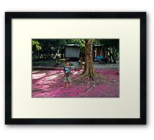 People 0659 (The Amazon, Brasil)  Framed Print