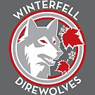 Winterfell Direwolves (Retro Variant) by huckblade