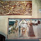 Wall murals church Sacra di san Michele 198403110021  by Fred Mitchell