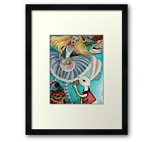 Alice and Friends Framed Print