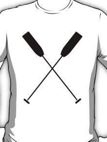 Paddles Crossed / Dragonboat T-Shirt
