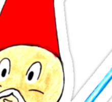 May the Gnomes be With You Sticker