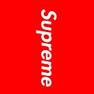 Supreme Logo by Alex & Marco Mitolo