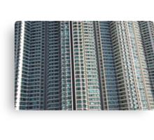Hong Kong high rise apartment blocks in the sunshine Canvas Print